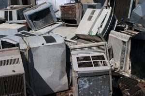 air-conditioning-recycling-yard